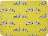 Rosa & Clara Designs Zebras Placemats Set Of Four Large