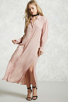 Forever 21 FOREVER 21+ Contemporary Maxi Shirt Dress