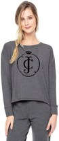 Juicy Couture Outlet - FLOCKED LOGO PULLOVER