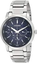 Citizen Men's BU2010-57L Dress Analog Display Japanese Quartz Watch