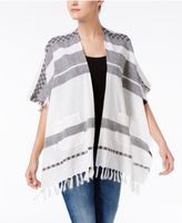 Echo Cotton Blanket Striped Kimono
