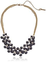 Kenneth Cole New York Jet Faceted Bead Necklace, 14''+3'' Extender