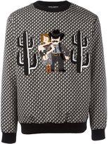 Dolce & Gabbana Western Family appliqué sweatshirt