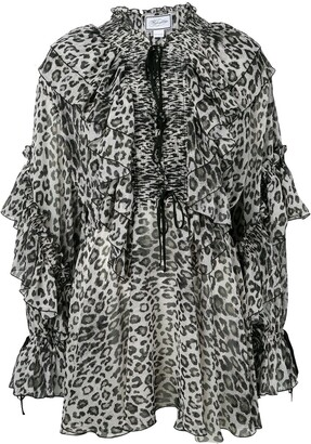 Redemption Leopard Print Dress