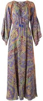 Etro paisley print maxi dress - women - Silk - 40