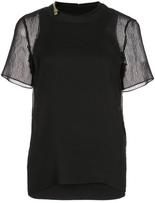 Sacai Double-Layered Top