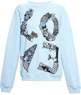 Mary Katrantzou 'Love' embroidered sweatshirt - women - Cotton - XS
