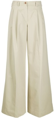 Jejia Wide-Leg Tailored Trousers