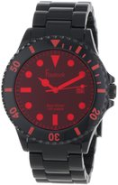 Freelook Men's HA1440-1B Sea Diver Spectrum Plastic with Tinted Face-Red Watch