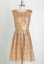 Decode 1.8 Fun One Like You Dress in Gold