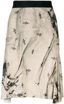 Ann Demeulemeester lace print skirt
