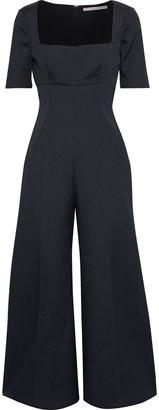 Emilia Wickstead Audie Cloque Wide-leg Jumpsuit