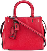 Coach hanging tag tote - women - Calf Leather - One Size