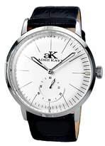 Adee Kaye Men's Vintage Slim 41.89mm Steel Case Automatic Watch Ak9044-Mwt-Lb