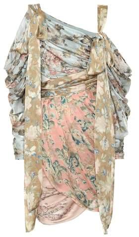 Zimmermann Unbridled Elixer silk dress