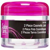 Salon Care Clear Cosmetic Jars
