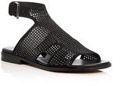 Donald J Pliner Leah Perforated Gladiator Sandals