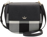 Kate Spade Cameron Street Byrdie Plaid Crossbody Bag, Light Shale/Multi
