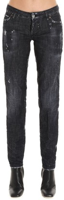 DSQUARED2 Distressed Skinny Fit Jeans
