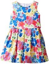 Us Angels Sleeveless Princess Bodice Popover Dress (Little Kids)