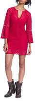 Plenty by Tracy Reese Bell-Sleeve Lace Dress