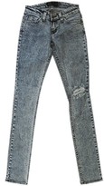 Jet by John Eshaya - Women's Busted Knee Skinny Acid Wash Jeans