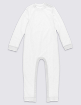 Marks and Spencer Long Sleeve Sleeping Suit without Feet (3-8 Years)
