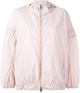 Moncler cropped hooded jacket - women - Polyamide/Polyester - 0
