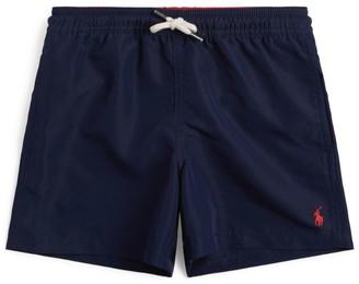 Ralph Lauren Kids Polo Pony Logo Swim Shorts (2-4 Years)