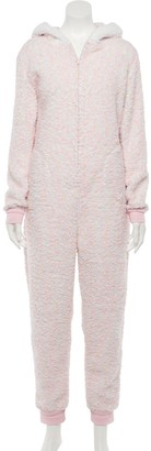 So Juniors' Plush One-Piece Pajamas