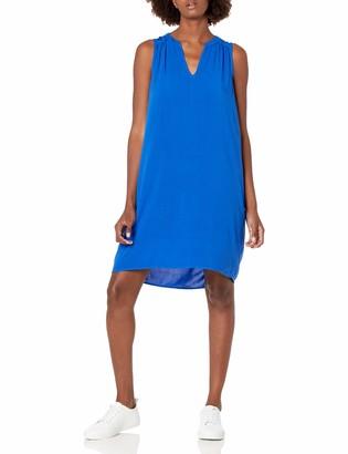 Michael Stars Women's Modern Rayon Sleeveless Vee Neck Dress
