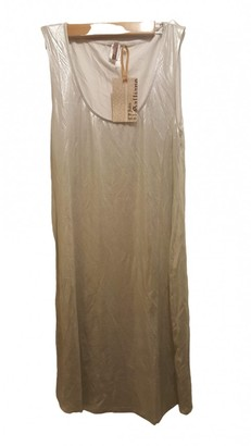 John Galliano Silver Cotton - elasthane Dresses