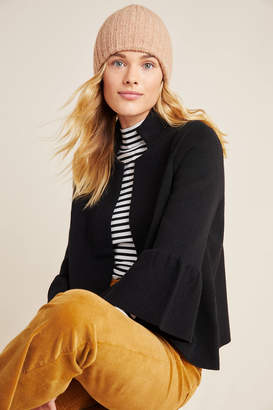 Anthropologie Blaise Mock Neck Sweater Jacket