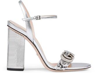 Gucci Women's sequin sandal