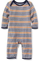 Old Navy Striped Jersey One-Piece for Baby