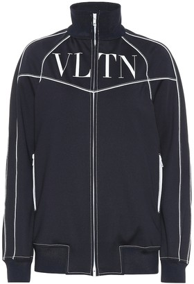 Valentino VLTN tech jersey track jacket