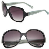 Fossil 59mm Oversized Sunglasses