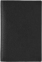 Reiss Reiss Parsons - Leather Passport Holder In Black