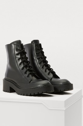 Kenzo Flat ankle boots