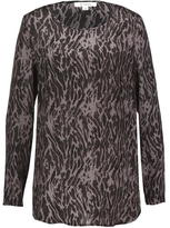 St Martins Thea Printed Silk Top