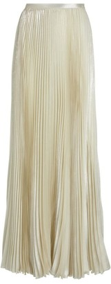 Kiton Pleated Maxi Skirt