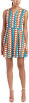 Molly Bracken Printed A-Line Dress
