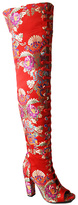 Bamboo Red Floral Limelight Boot