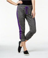 Material Girl Active Juniors' Colorblocked French Terry Sweatpants, Only at Macy's