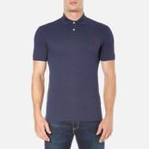 Polo Ralph Lauren Men's Short Sleeve Slim Fit Polo Shirt Navy Heather