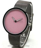 Next Soleasy Fashional Metal Iron Net Mesh Band Quartz Men'sWomen's Wrist Watch- WTH0713