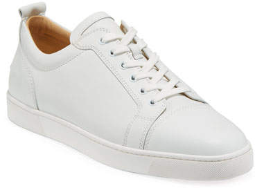Men S Louis Junior Leather Red Sole Sneakers