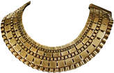 One Kings Lane Vintage Half-Circle Brass Collar Necklace