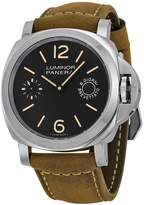 Panerai Men's Quartz Stainless Steel and Canvas Watch, Color: (Model: pam00590)