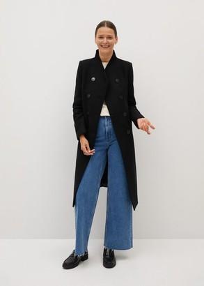 MANGO Manteco wool double-breasted coat